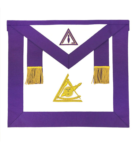 Past Illustrious Master Apron York Rite