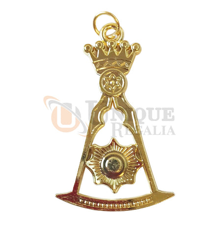 Pendant Masonic Ornate Square Compass