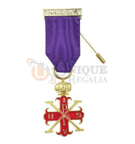 Red Cross of Constantine Sovereigns Breast Jewel