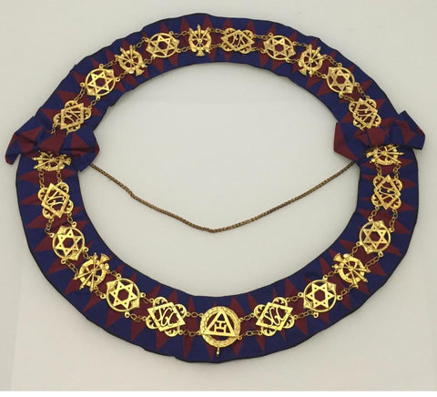 Masonic Regalia Chain Collar