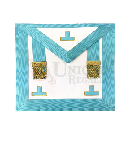 Worshipful Apron of Venerable Rectified  Master of the French Rite with Tassels