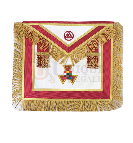 York Rite Grand Past High Priest Apron with fringe
