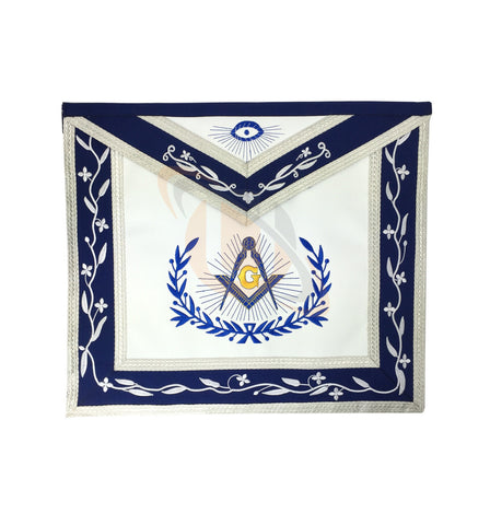 Masonic Master Mason Machine Embroidery Freemasons Apron - kitchcutlery  - 1