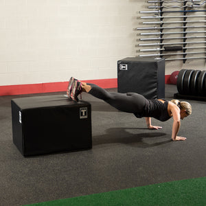 Body-Solid Tools Plyo Boxes à faces souples BSTSPBOX