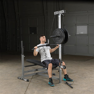Body-Solid Lat Pulldown Seated Row - Option GLRA81
