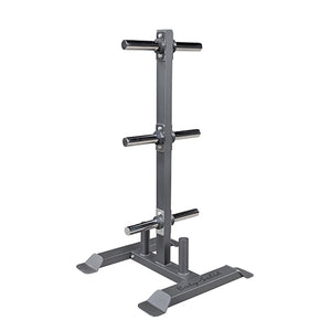 Body-Solid Porte-disque et Barre Olympique Plate GWT56
