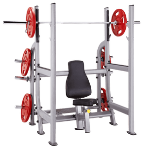 Steelflex Neo Military rack olympique NOMB