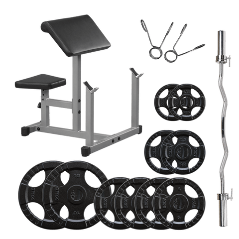 Powerline Pack Pupitre à Biceps PPB32XSET