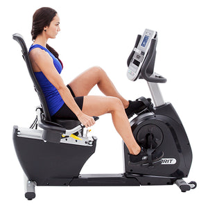 Spirit Fitness Velo Semi Couche XBR95