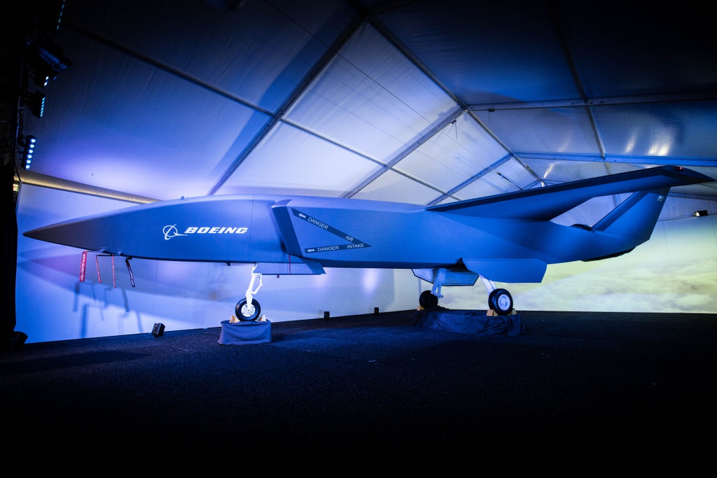 Boeing Unmanned Fighter Jet Drone