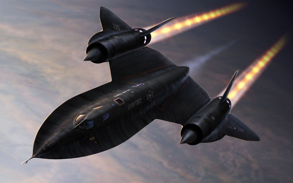 SR 71 Blackbird made in Titanium