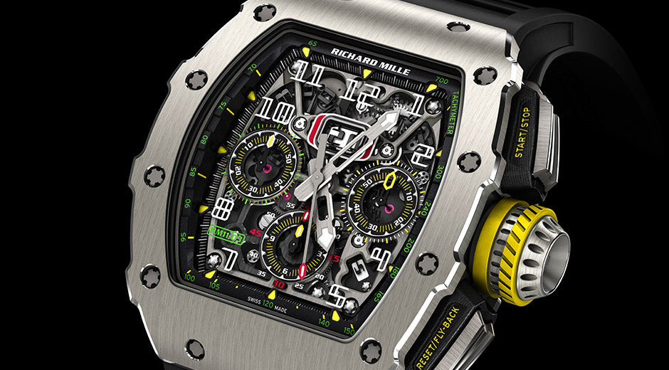 Richard mille 11-03 in Titanium
