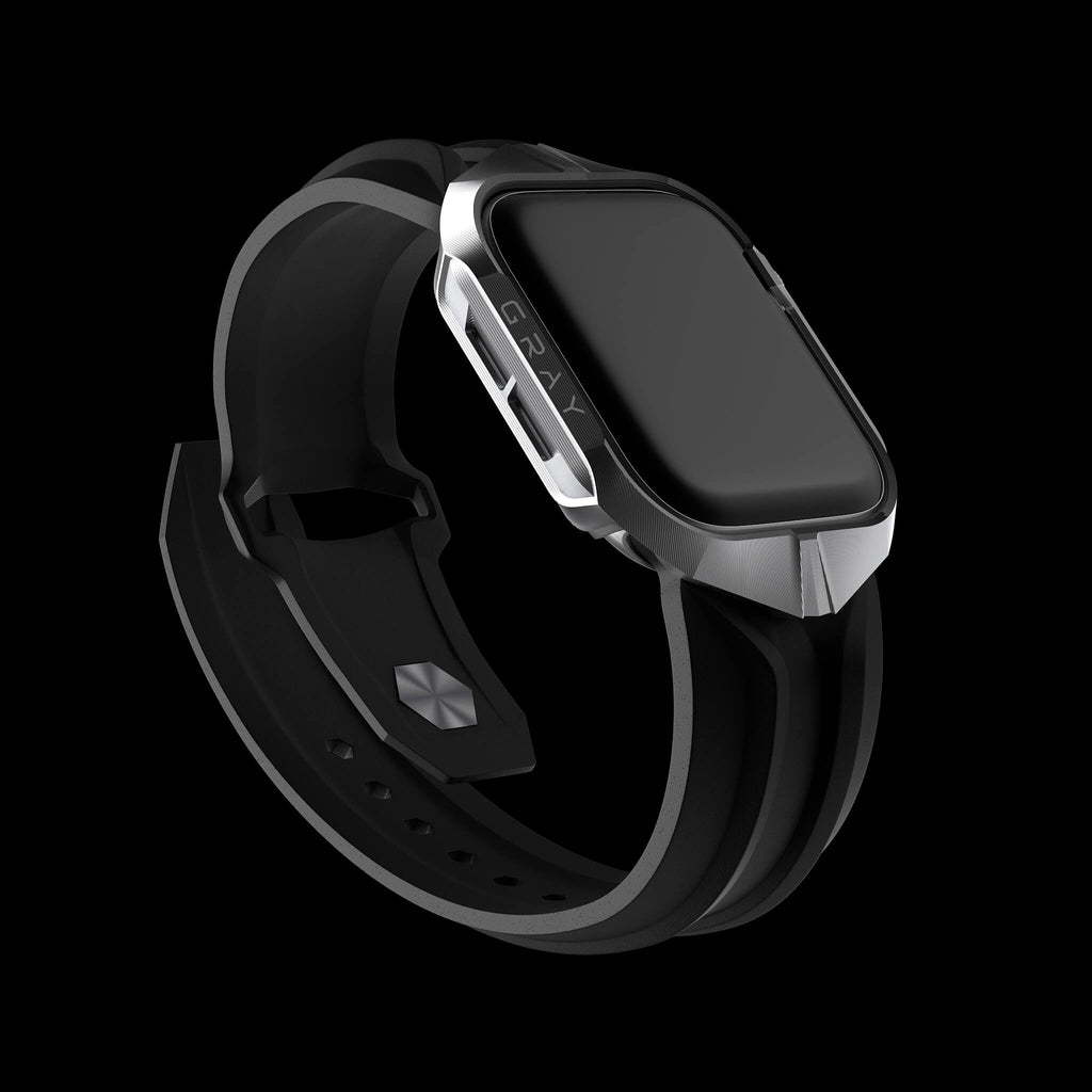 cyber watch luxury designer aluminium metal apple watch case and band