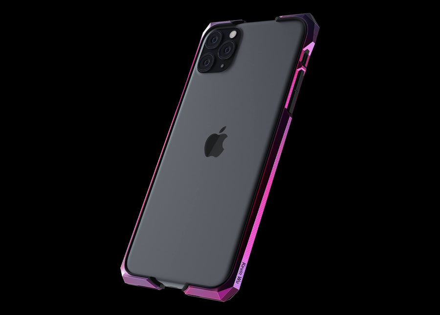 Advent aurora titanium metal luxury iPhone 11 pro max Case