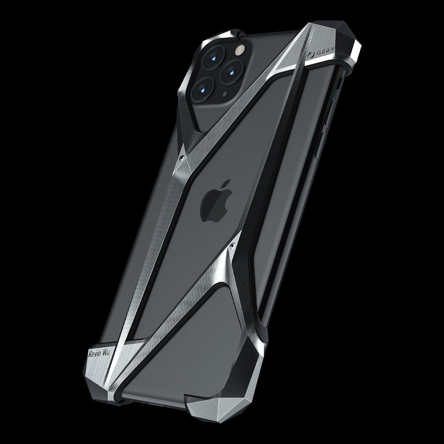 alter ego luxury titanium metal iPhone 11 pro max case