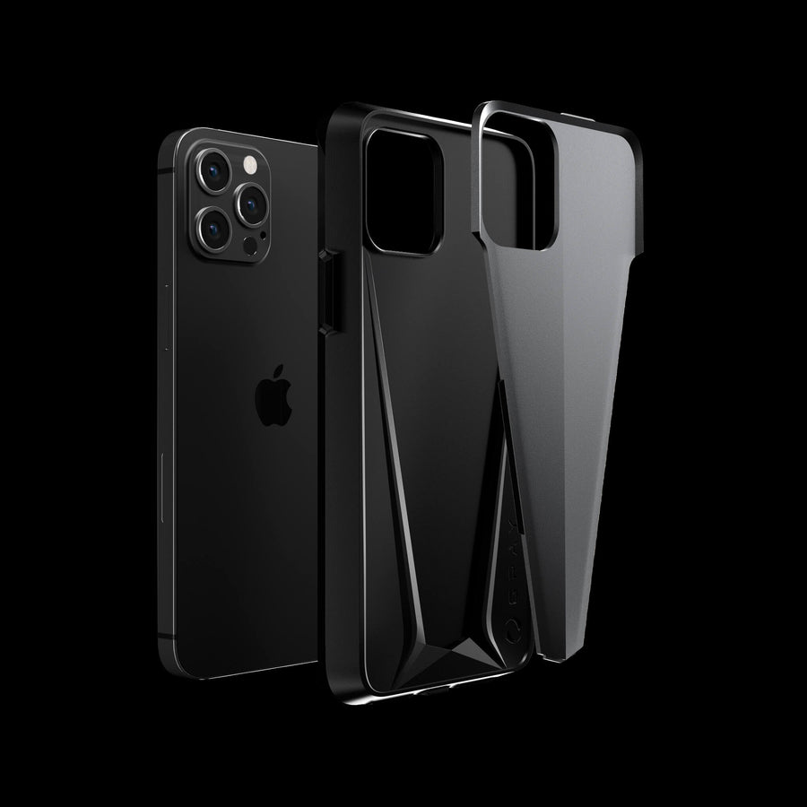MORPHEUS® Space Gray Aluminium iPhone 12 Pro Case