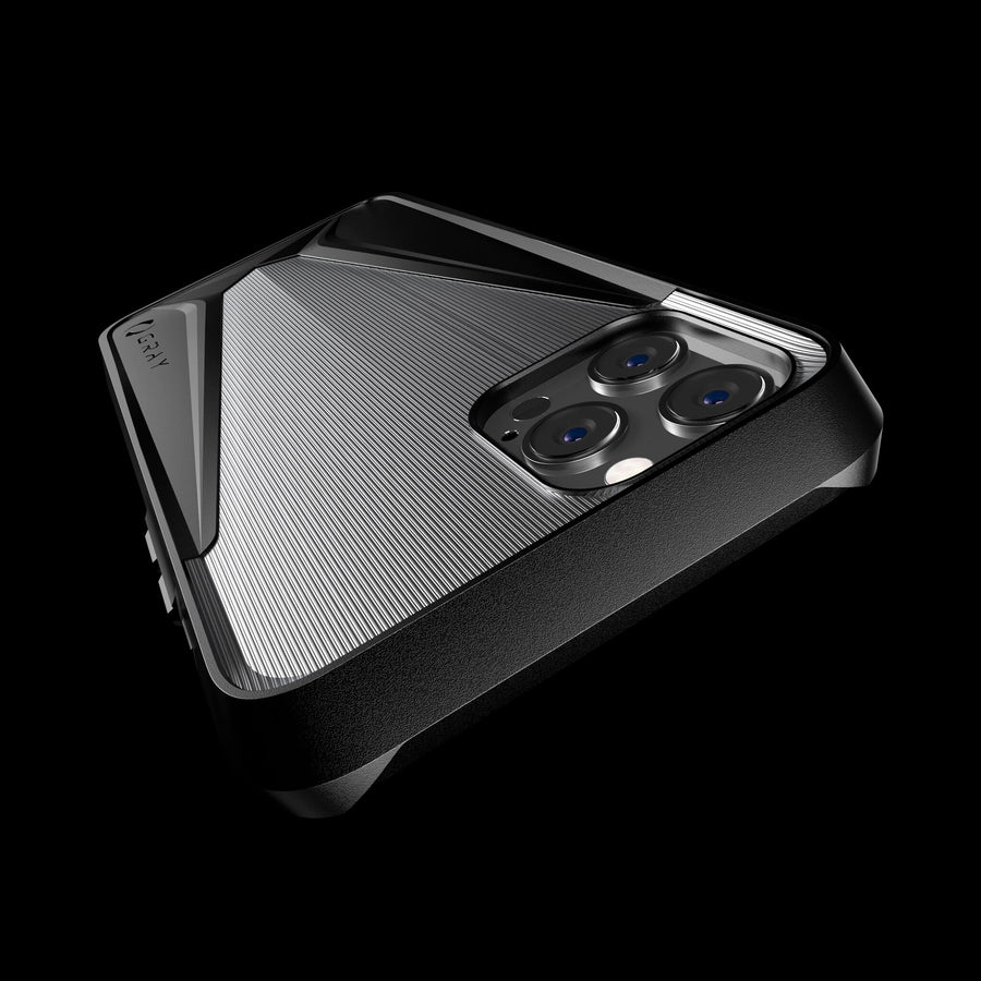 morpheus titanium luxury metal iPhone 12 pro case