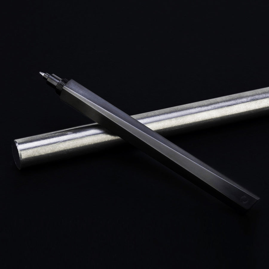 Shard Stealth PVD Coated Luxury Titanium Metal Pens by GRAY® Singapore