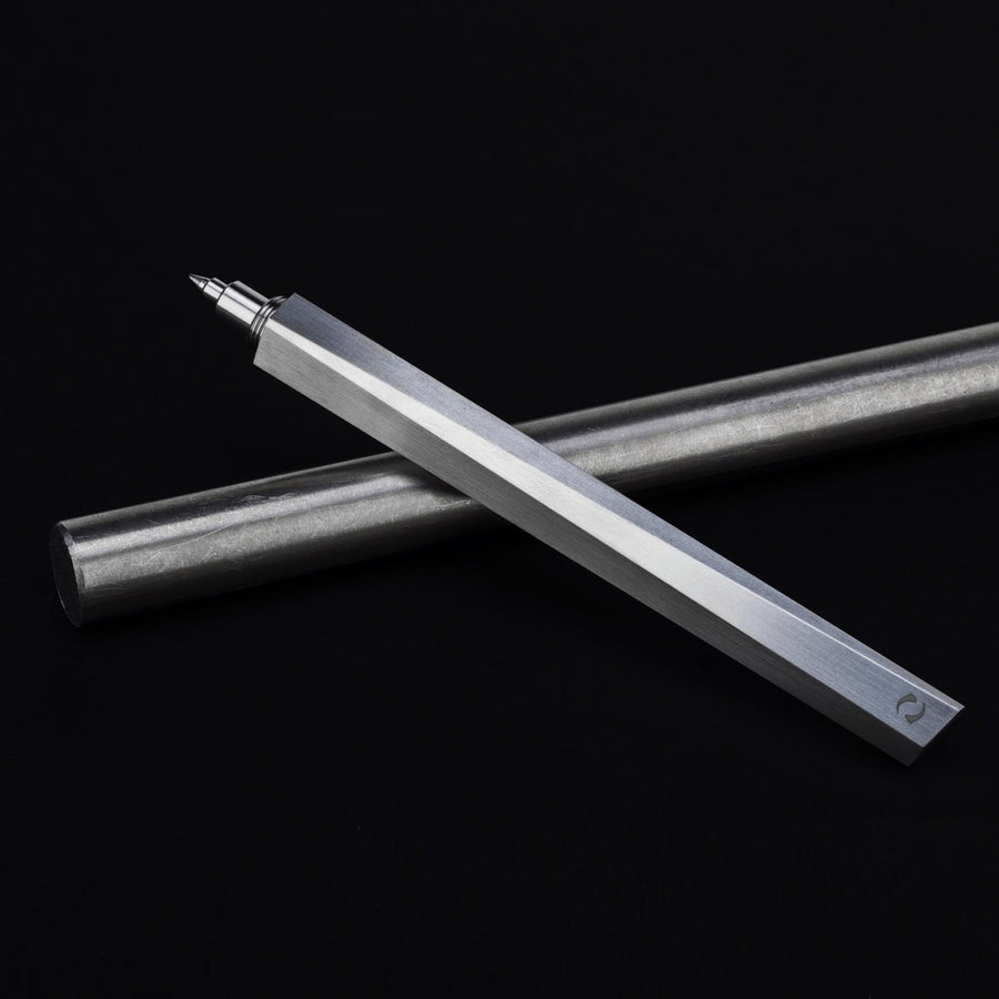 Shard Satin Luxury Titanium Metal Pens by GRAY® Singapore