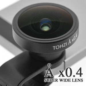Tohzi Å x0.4 スーパーワイドレンズ|Tohzi Å x0.4 Super Wide Conversion Lens clip