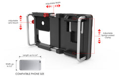 iPhone6/6Plus/5/5s対応 コンバージョンレンズ用ジャケット|Cinema Mount for iPhone6/6Plus/5/5s,Turtleback - MATENRO-HK - 5
