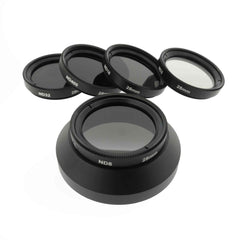 28mm NDフィルタ(CM1 / CM10用Turtleback製フードカバー向け)|28mm ND Filter (fitting to Turtleback Hood cover) for Lumix CM1 and CM10