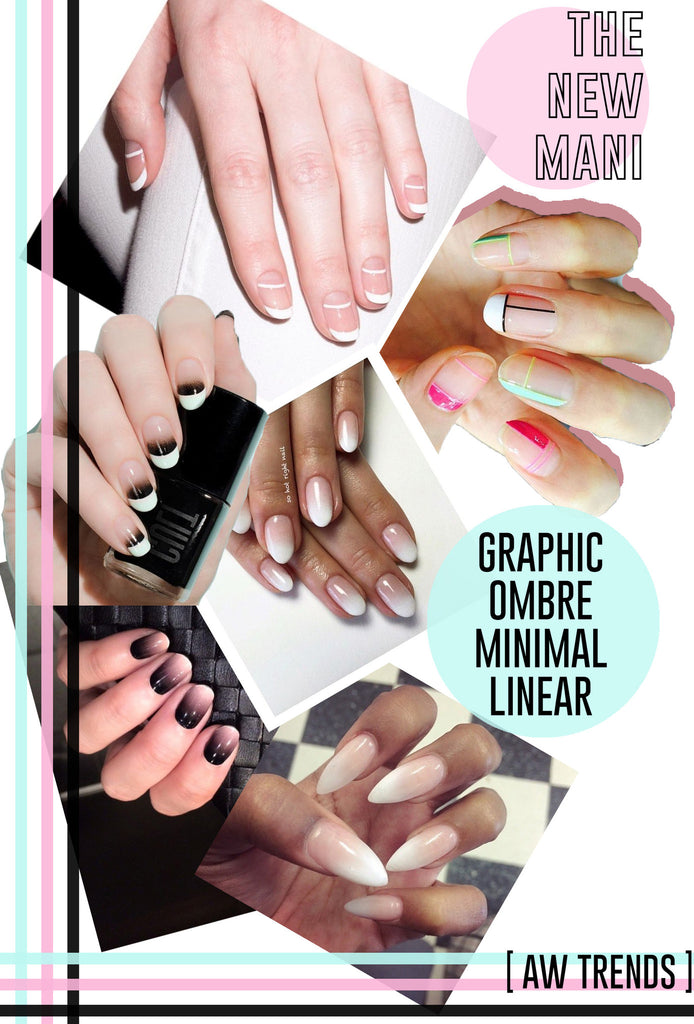 THE NEW MANI [AW TRENDS] //