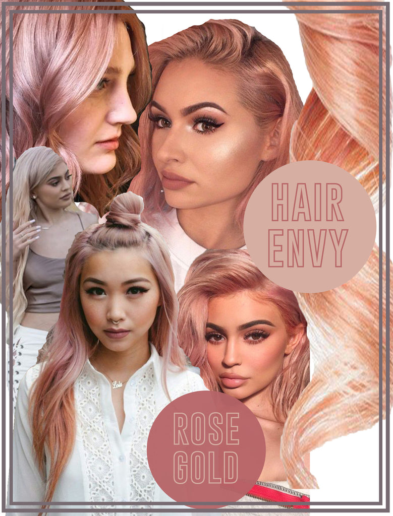 [HAIR ENVY] ROSE GOLD