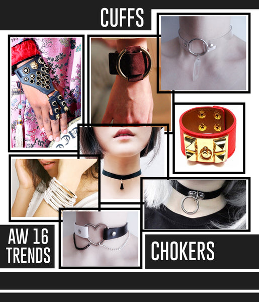 Studio LBW AW 16 Trends Cuffs Chokers