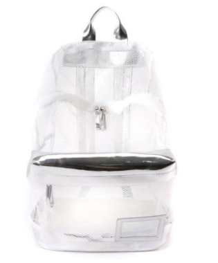 MESH UP RUCKSACK // WHITE - Studio LBW