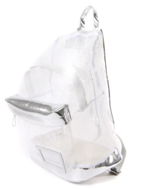 MESH UP RUCKSACK // WHITE - Studio LBW  - 2