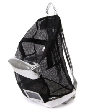 MESH UP RUCKSACK // BLACK - Studio LBW