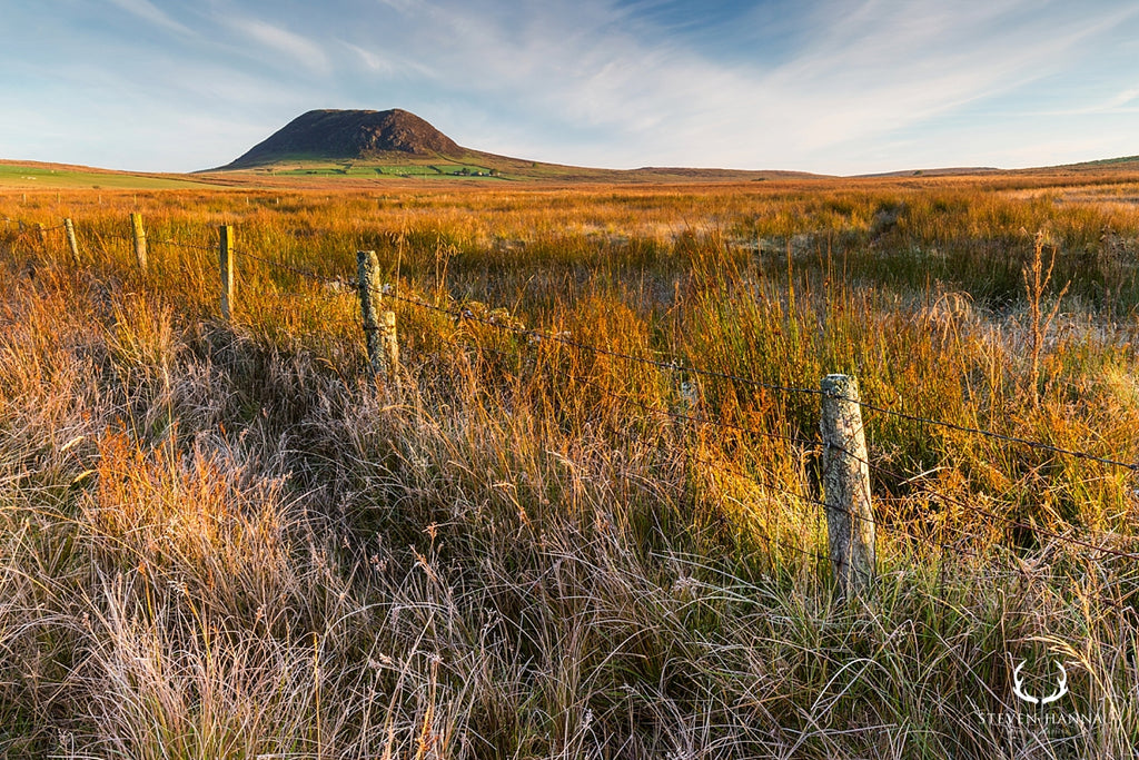 slemish mountain landscape photo