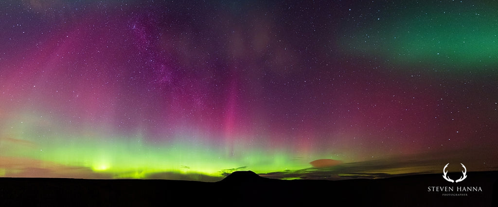slemish aurora photo by steven hanna