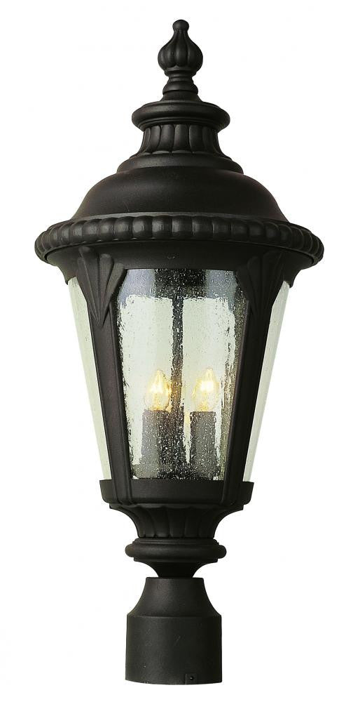 lucide led light black outdoor combo post lyco