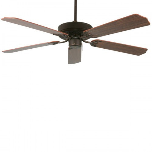 B552 Rb5p Rubbed Bronze 52 Quot 5 Blade Ceiling Fan In