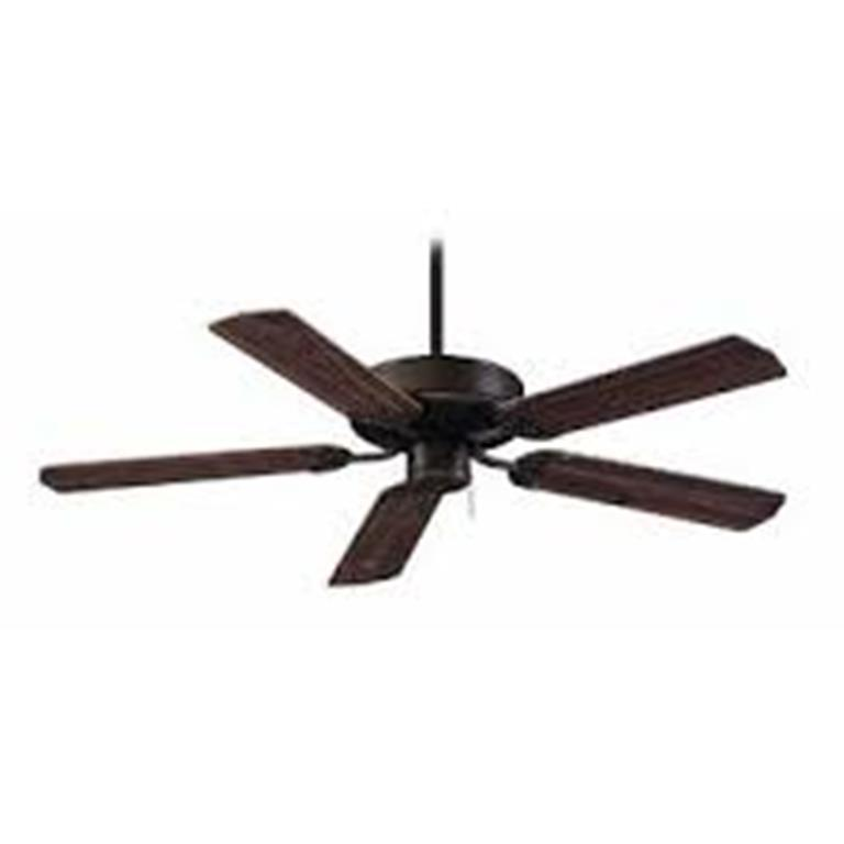 1059blk Maple 52 Quot Black Fan With 5 Maple Blades In
