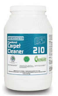 CHEMSPEC DFC 210 Powdered Carpet Cleaner