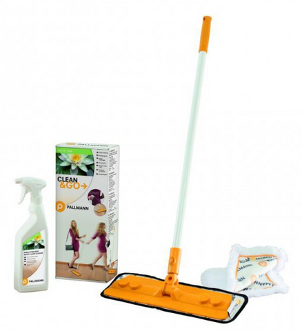 Pallmann Clean and Go Wood floor cleaning Kit