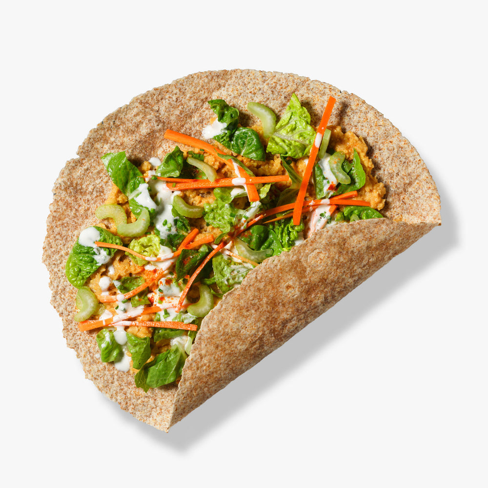 Spicy Chickpea Wrap