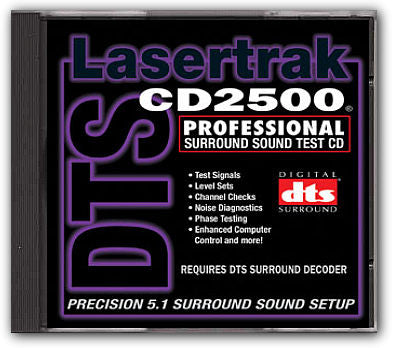 Lasertrak CD2500 Surround System Test CD