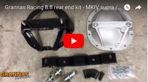 Grannas Racing Supra / SC300 Ford 8.8 rear install guide with video