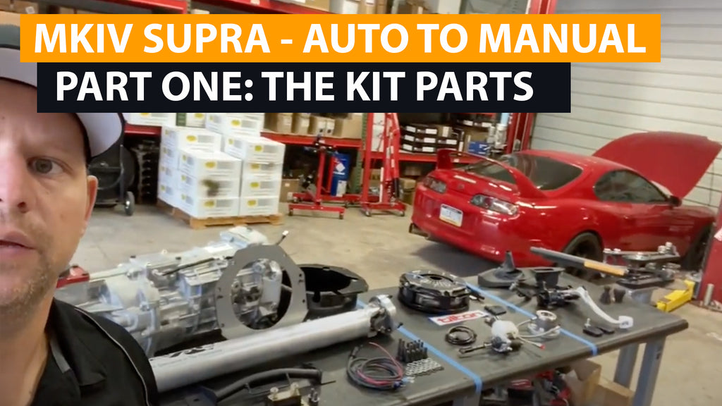 MKIV Supra Auto to Manual Swap (version 2) - Intro and Part One - GR700 Magnum-F kit