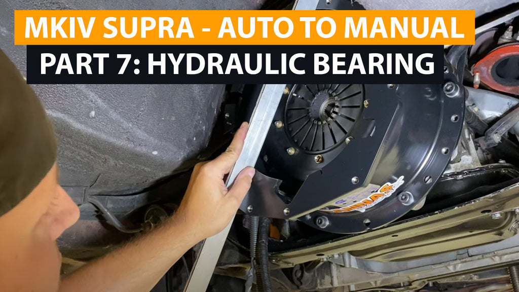 Supra Auto-to-Manual Conversion - Part Seven - Hydraulic Release Bearing Air Gap