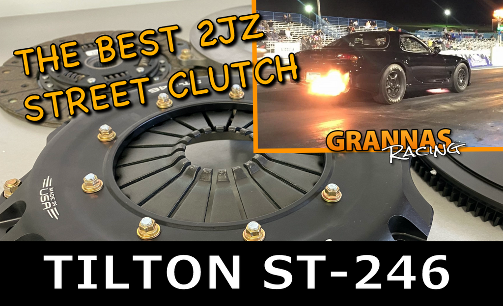 TILTON ST-246 CLUTCH - THE BEST 2JZ CLUTCH EVER