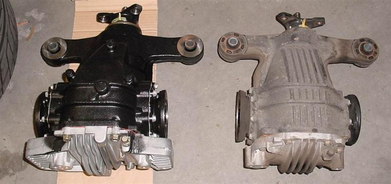 MKIV Supra (JZA80) Differential information