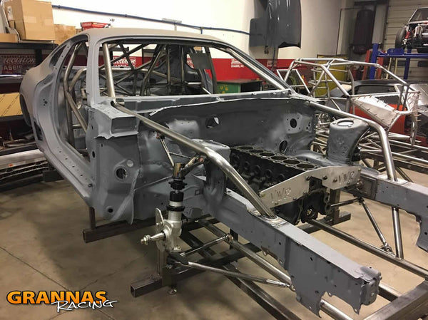 Grannas Racing H-Pattern Drag Supra front end build suspension