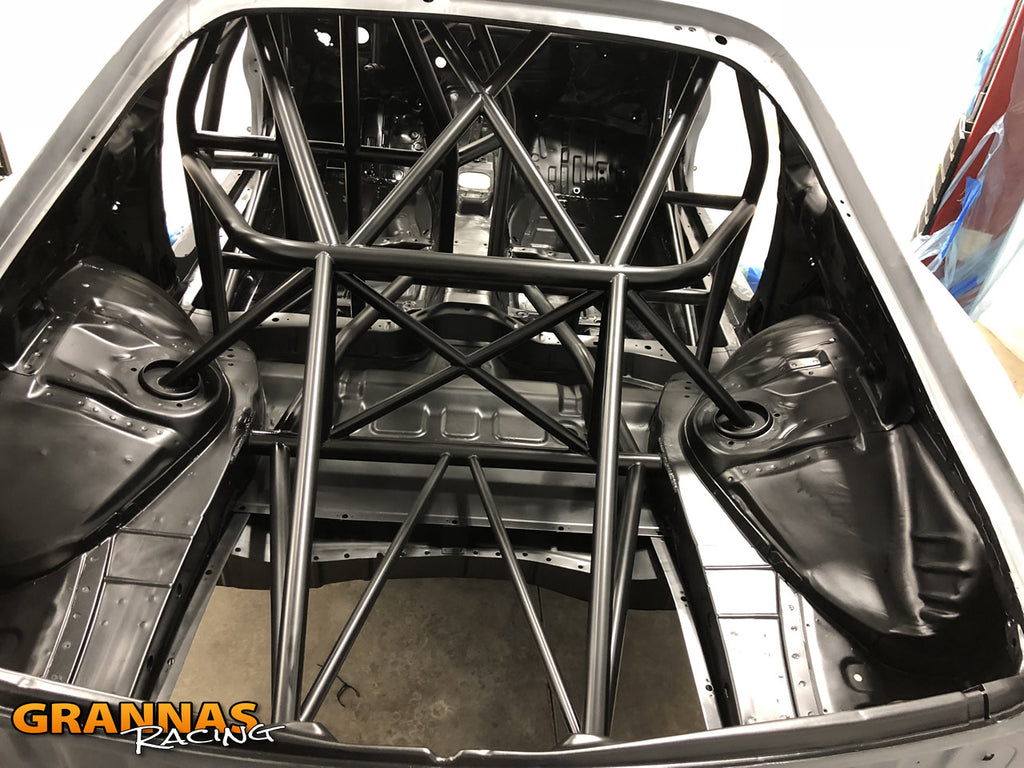 Grannas racing 6speed supra mkiv jza80 chassis tube frame chromoly precision chassis