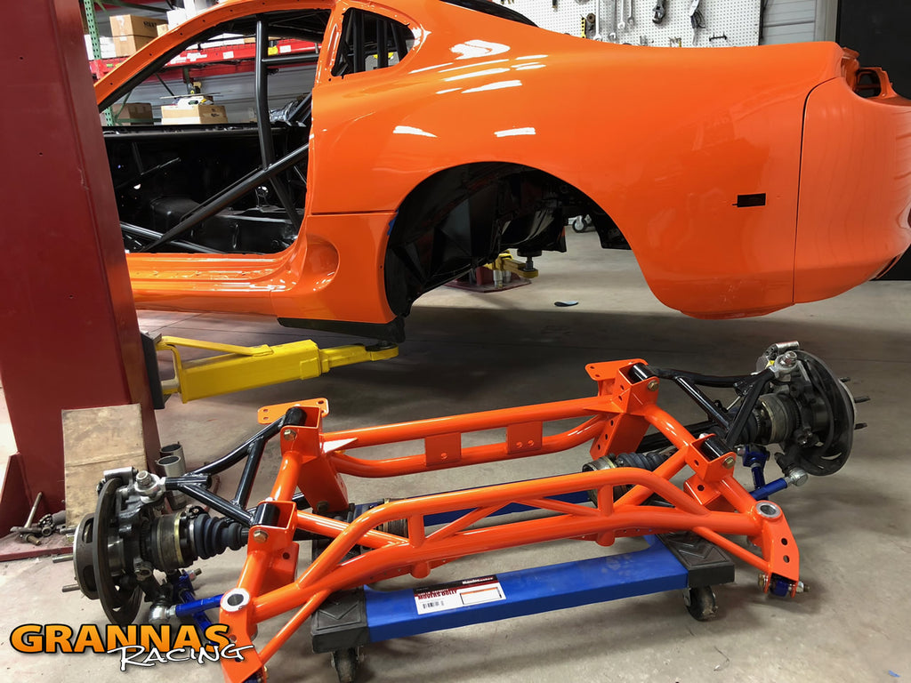 Grannas Racing tubular supra subframe ultimate irs coilover double adjustable suspension mkiv jza80