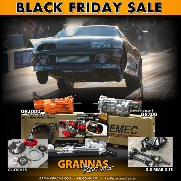 Grannas Racing Black Friday 2019
